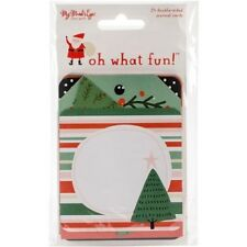 My Minds Eye Oh What Fun Double Sided Journal Cards - 078214