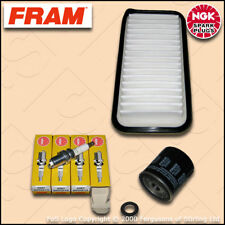 SERVICE KIT for TOYOTA YARIS 1.5 FRAM OIL AIR FILTERS PLUGS (2001-2006)