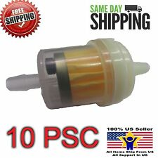 UNIVERSAL GAS FUEL FILTER MAGNET 50cc 150cc GY6 SCOOTER ATV GO KART TAOTAO 10psc