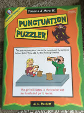 Critical Thinking Punctuation Puzzler-Commas and More-GRADES 5-6