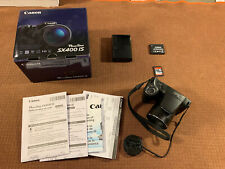 Canon PowerShot SX400 IS 16.0MP Digital Camera + Sandisk 8 GB Memory Card