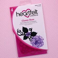 Heartfelt Creations Cut&Emboss Dies Classic Rose, HCD1 7110 ~ NIP