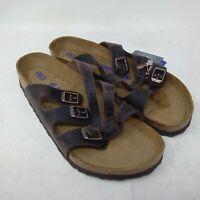 Birkenstock Florida Soft Footbed Oiled Leather Habana 40.0 0053901 BR-418