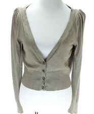 Moth Anthropologie NWT Women Cardigan Size M Light Brown Sweater $88