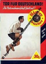 ORIGINAL Heft 1940 KICKER Bücher Tor für Deutschland Nationalmannschaft 2.WK EM