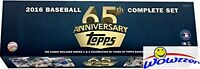 2016 Topps Baseball 65th Anniversary Limited Edition 700 Card Factory Set- Rare!