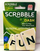 Scrabble Dash Card Game Green Brand new sealed package Mattel Games Original