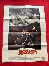 Affiche cinéma-LA MOTOCYCLETTE-1968-GIRL ON A MOTORCYCLE-DELON Alain-60x 80 cm-