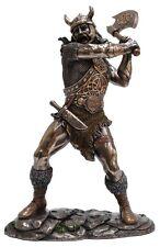 Veronese Bronze Figurine Viking Soldier Marauder warrior lieutenant statue