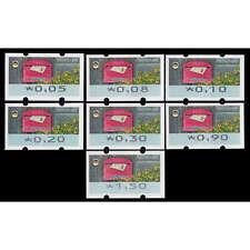 """BRD Bund ATM9 VS1 postfrisch ** 5/8/10/20/30/90/150 Cent """"Briefkasten 2017"""""""