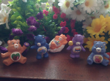 "CUSTOM PAINT Lot of 5 Vintage UK Care Bear Characters 2"" Mini Figures  Daydream"