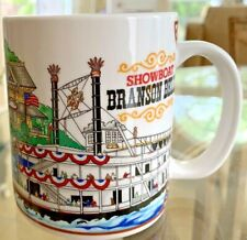Branson Belle Showboat White River Landing Riverboat Coffee Mug Cup Very Good!