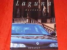 Renault laguna BACCARAT prospectus de 1995