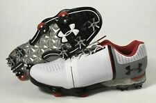UNDER ARMOUR UA SPIETH ONE GOLF SHOES SIZE 10 WIDE (E W) WHITE 1302342-108