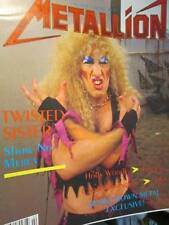 Metallion Magazine Vol 1 #2-Twisted Sister/Dio/Lita Ford/Kiss/Ratt/Wendy O Willi