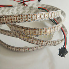 3.2FT 1M SK6812 Non-waterproof 144LED Dream Color Strip Light RGB Addressable 5V