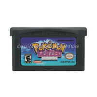 Pokemon Glazed GBA Game Boy Advance Cartridge