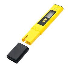 Digital PH Meter Water Hydroponics Portable Pen Aquarium Pool Tester Kit