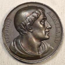Medallion, Pierre Abailard, Gallery of Medals Great Men of France, 1817  0702-22