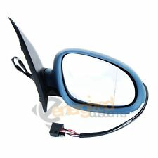 VW Golf MK5 Wing Door Mirror Electric 2003-2009 Grey Primed Cover Drivers Side