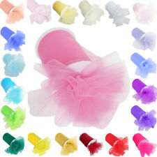 "1//2//5PCS 6/"" wide x 100//25yds Tutu Tulle Roll Soft Netting Craft Fabric Wedding"