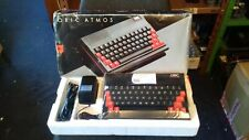 RARE VINTAGE TANGERINE ORIC ATMOS COMPUTER SYSTEM (MINT BOXED)