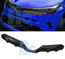 For Toyota CHR C-HR 2016 2017 2018 Carbon Fiber Style Front Upper Grille Trim