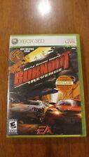 Burnout: Revenge (Microsoft Xbox 360, 2006) VERY GOOD W/MANUAL! DISC NEAR MINT!
