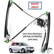 Mecanisme Leve Vitre Avant Droit Passager pour VW POLO 5 Portes Break 1994-2001