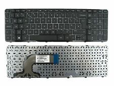 HP Pavilion 15 708168-031 9Z.N9HSQ.00U 719853-031 Laptop Keyboard UK With Frame