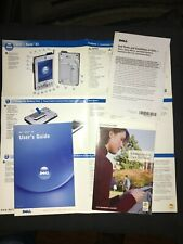 Dell Axim X3 Pocket Pc - Original Manual (190 Pages) & Inserts For Axim X3 Dell