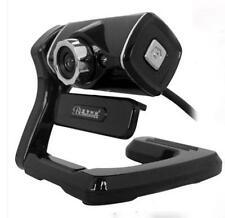 USB Night Video Web Camera HD 12 Megapixels & Sound Absorption Mic for PC Laptop