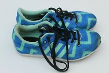 Adidas Allroundstar Track Running Spikes Size 3 Blue USED