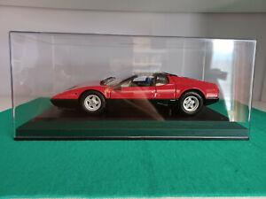 """1/18 Kyosho Ferrari 512 BB """"Prototipo Pilota della casa Kyosho con tettoo nero"""""""