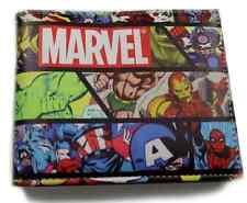 The Avengers Marvel Comics Purses Bi-Fold Leather Wallet New 2016