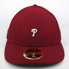 NEW Era MEN'S MLB Philadelphia Phillies a basso profilo 5950 montato CAP-TAGLIA 7 1/4