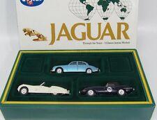 Corgi Toys 97700 Jaguar trough the Years - 3 Classic Jaguar models Mint in box