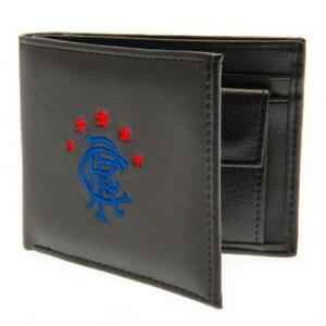 GLASGOW RANGERS FC EMBROIDERED PU LEATHER WALLET - OFFICIAL FOOTBALL GIFT