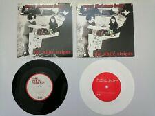 "JACK WHITE STRIPES / TMR - MERRY XMAS/CANDY CANE - 2 x 7"" UK + US WHITE ORIGINAL"