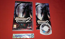 WARRIORS OROCHI 2 SONY PLAYSTATION PSP PAL COMPLET