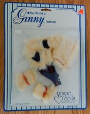 Nrfp Vintage 1978 The World of Ginny Fashions Vogue Dolls Outfit winter fur Mint