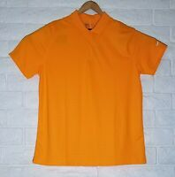 NWT Nike Golf Dri Fit Orange Polo Short Sleeve Shirt Standard Fit Size XL Mens
