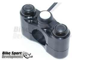 Motorcycle handlebar switches for race bikes - 3 button array