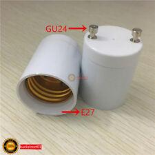 1Pcs GU24 To E27 Adapter Converter Lamp Holder Base Socket For LED Light Bulbs