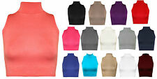 Patternless Casual Sleeveless Other Tops for Women