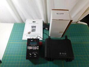 MFJ-259B HF/VHF/SWR RF Impedance Antenna Feedline Analyzer Counter Pelican Case