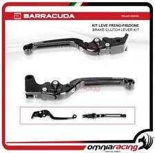 Barracuda Coppia leve Freno e Frizione in alluminio colore Nero per Yamaha MT07