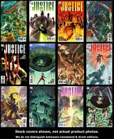 Justice (DC) 1 2 3 4 5 6 7 8 9 10 11 12 DC 2005 Complete Set Run Lot 1-12 VF/NM