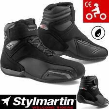 STYLMARTIN Motorradschuhe VECTOR schwarz anthrazit wasserdicht CE Protektoren 43