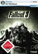 Fallout 3 (dt.) (PC, 2008, DVD-Box) - komplett - Mit Steam Key Code
